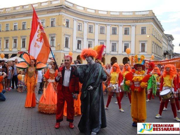 Рыжий город, Одесса, фестиваль,