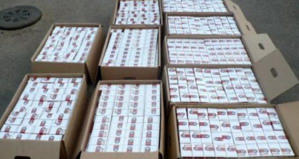 Контрабанда сигареты