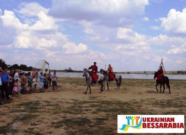 козацкие забавы Делень