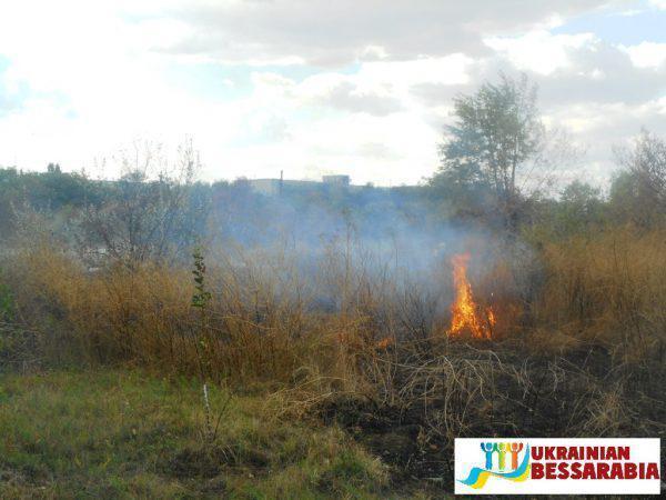пожар Арциз