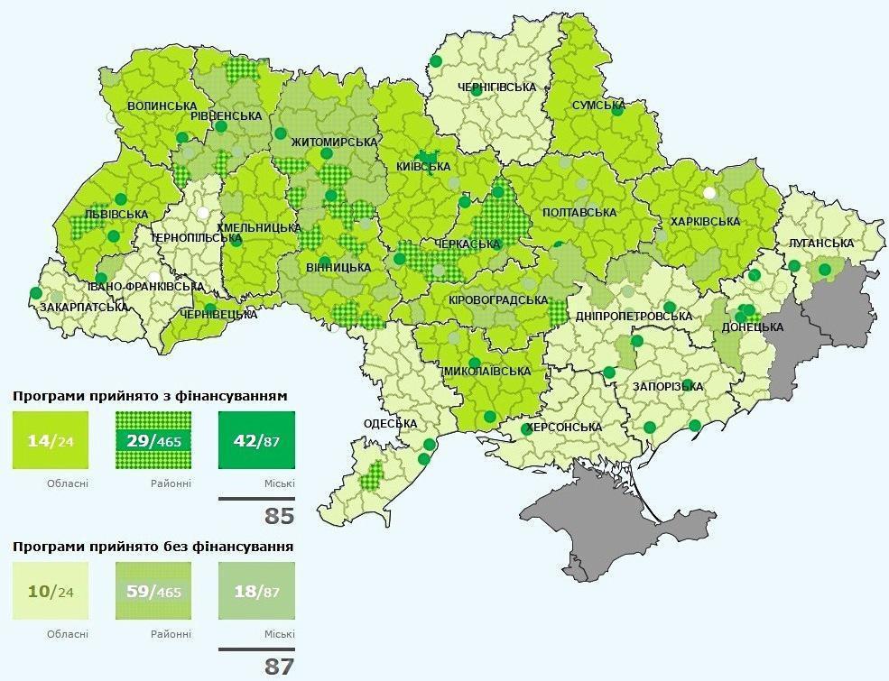 карта по энергоэффективности