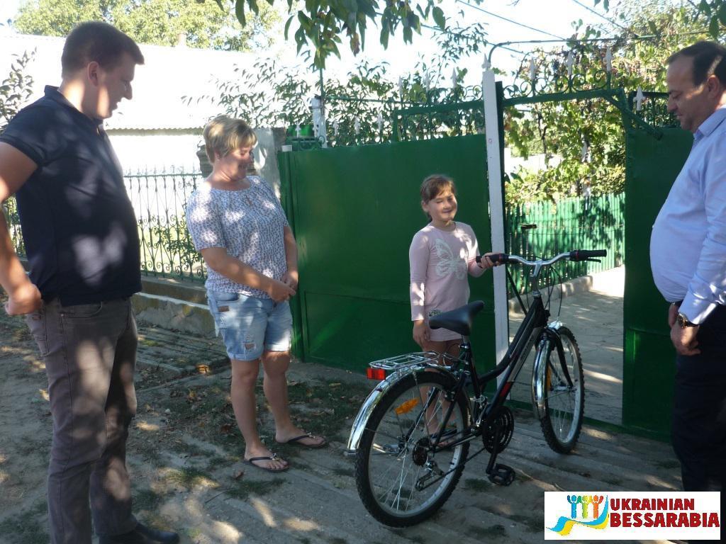Павловка, велосипед