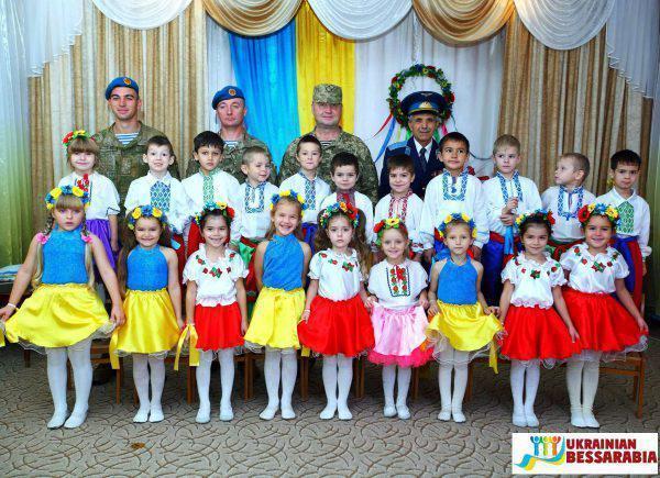 День защитника Украины в садике Росинка