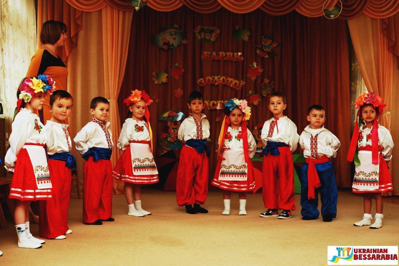Осенние развлечения в Арцизском детском саду №4