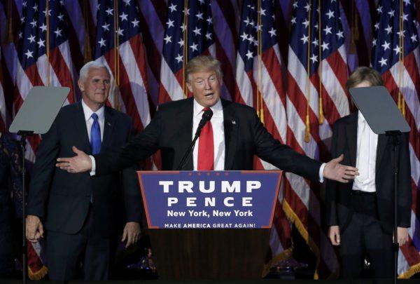 Дональд Трампстал победителем президентских выборов в США (фото, видео)