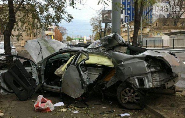Смертельное ДТП на Среднефонтанской в Одессе