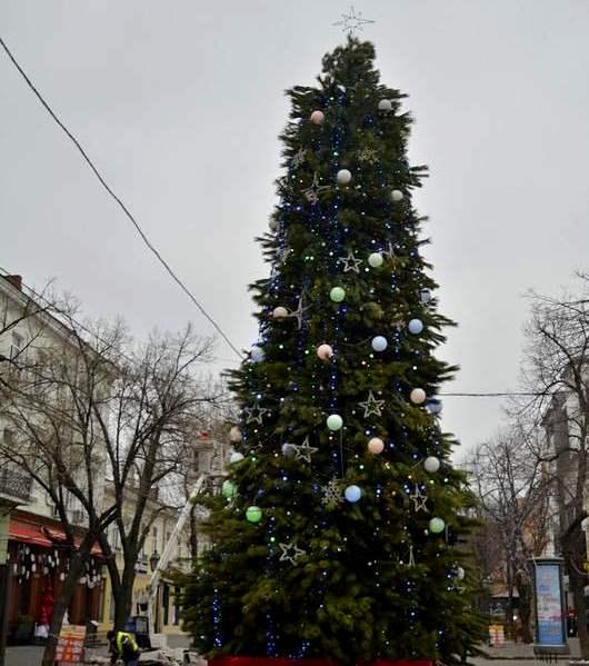 Одесса, Новый год