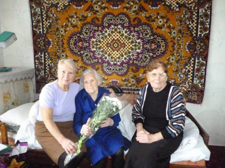 Одесситка отметила 100-летний юбилей (ФОТО)