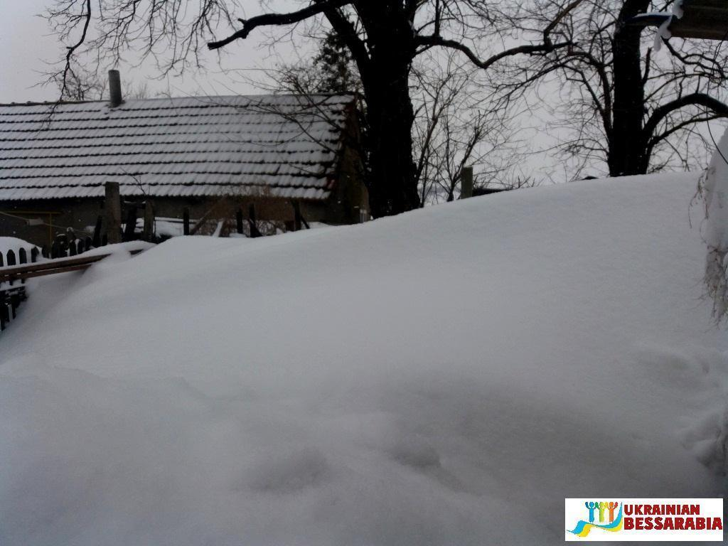 зима в Тарутинском районе