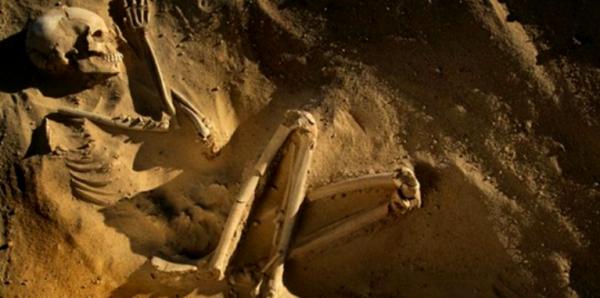 скелет девочки в германии