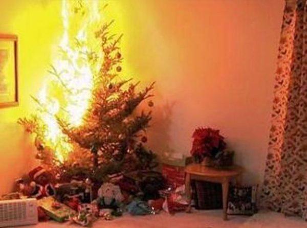 пожар в новогоднюю ночь