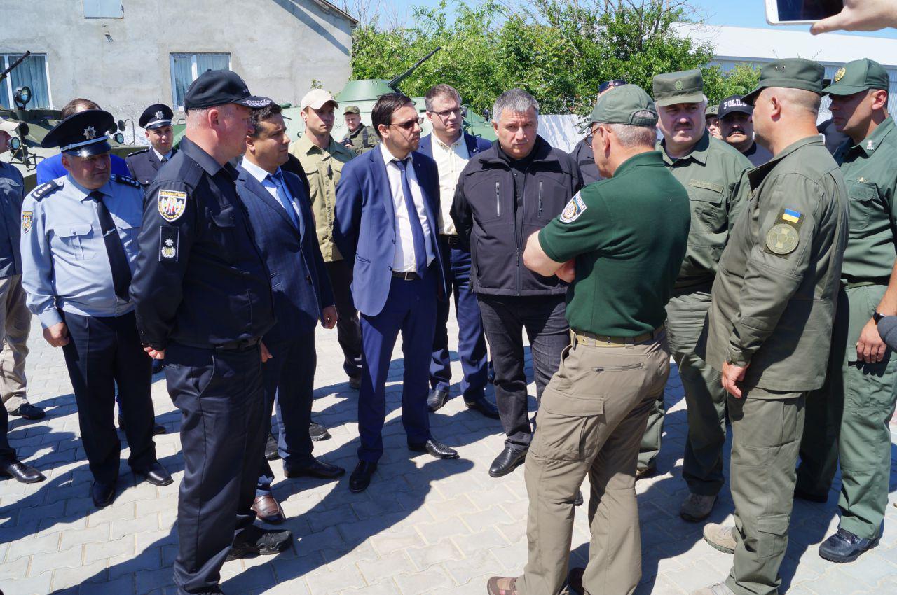 Аваков в Болграде