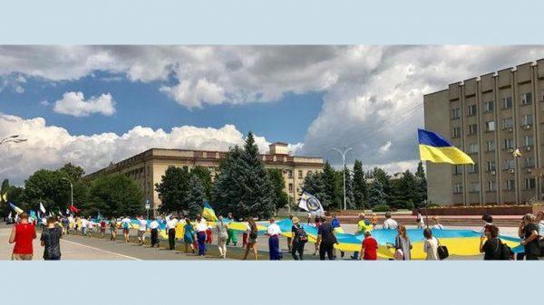 100й флаг Украины