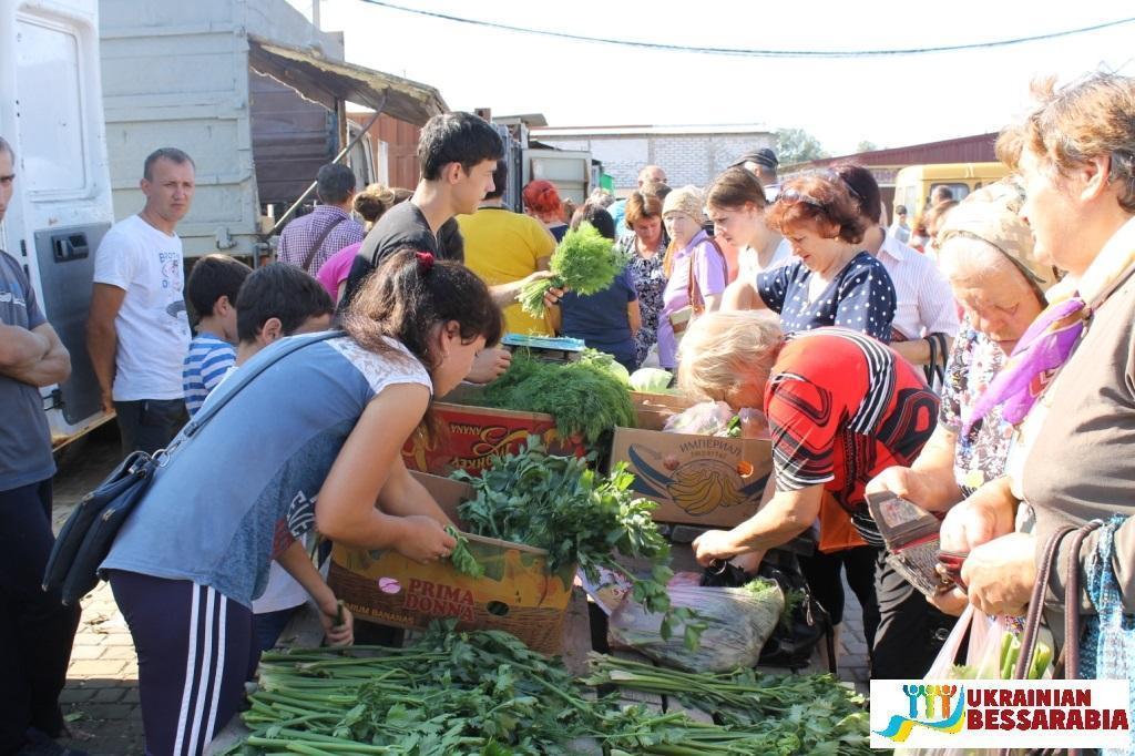 ярмарка сельхозпродукции в Арциз