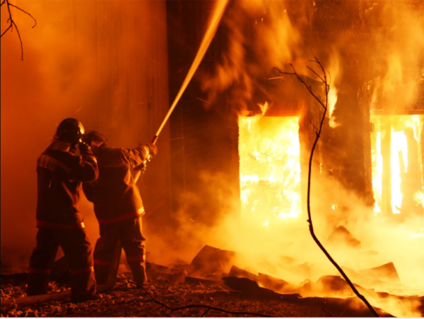 пожар в болградском районе