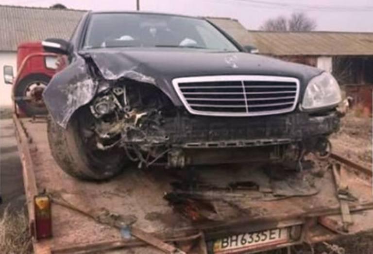 Поврежденный автомобиль