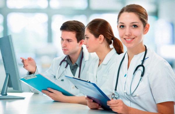 молодые медики