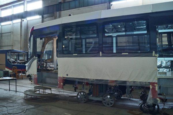 трамвай одесского производства