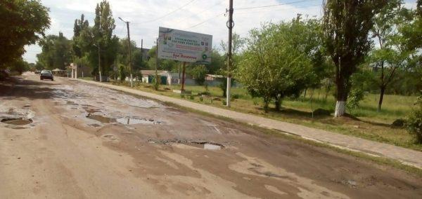 дорога по улице Строителей