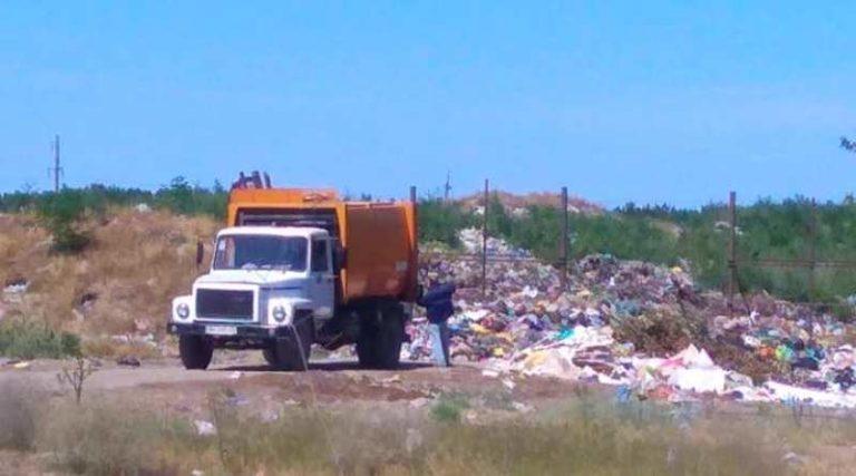 мусор Вилково