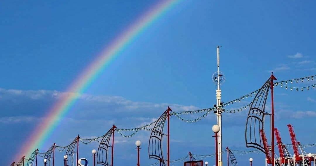 радуга над Одессой
