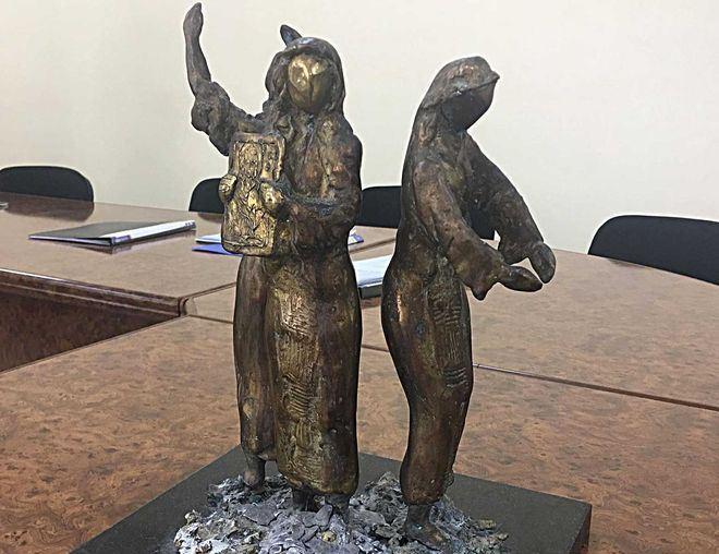 Макет скульптуры