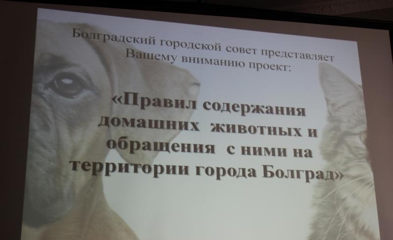 презентация в Болграде