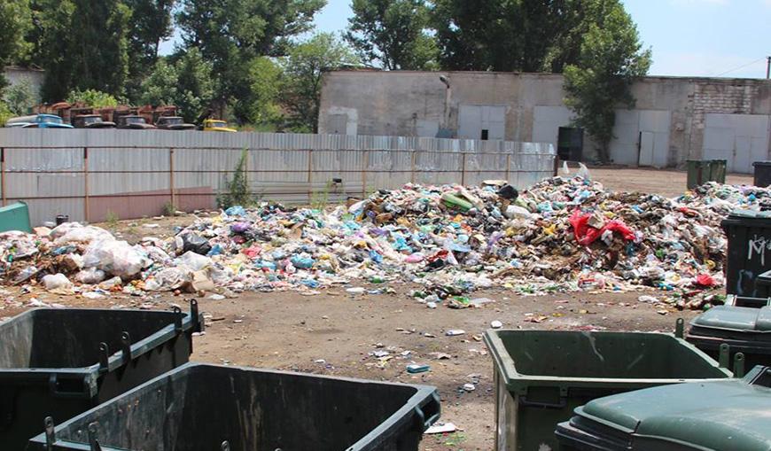 мусор в Аккермане