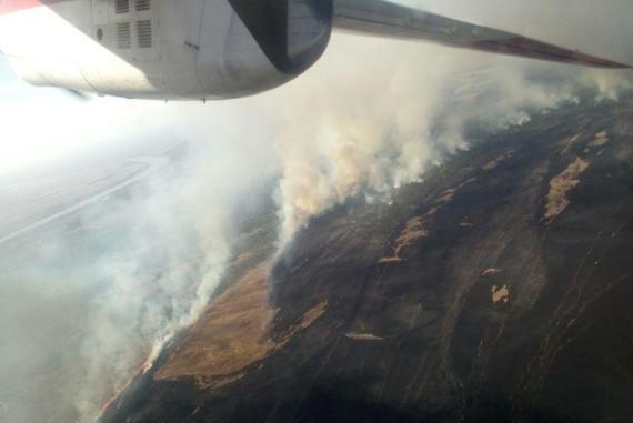 пожар в Вилково