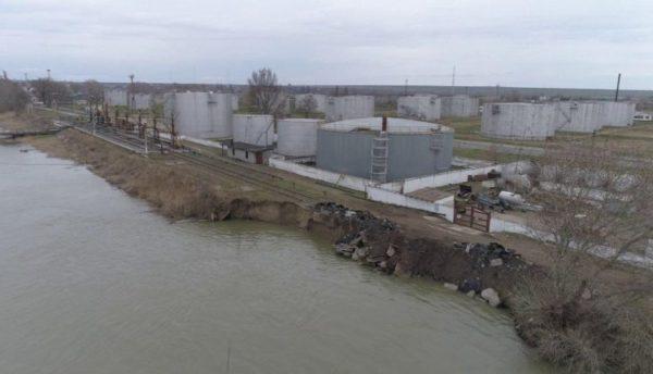обвал берега Дуная