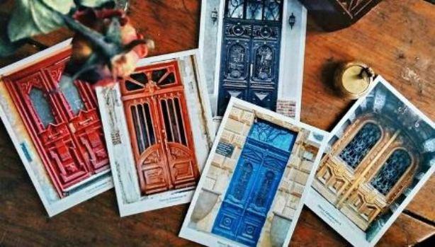 открытки-двери