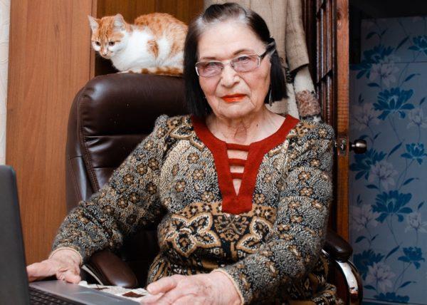 91-летняя одесситка