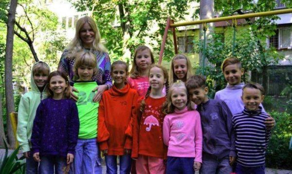 Ольга Подусова и и дети