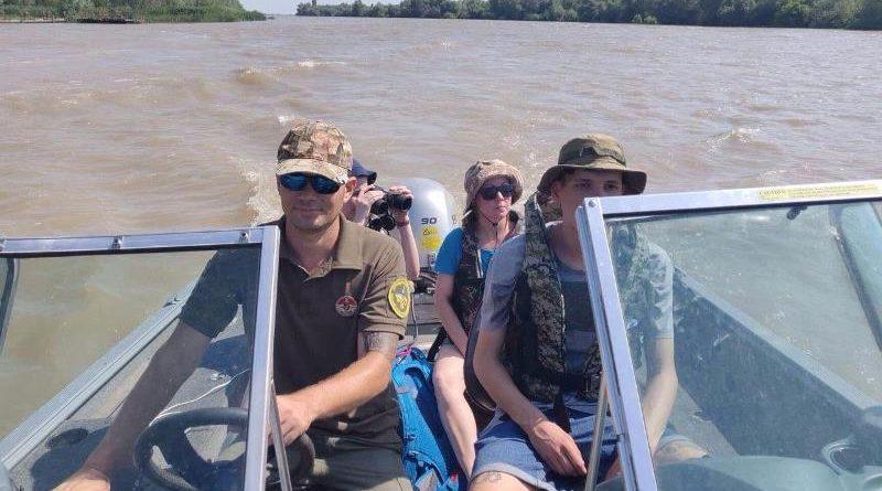 катер на Дунае