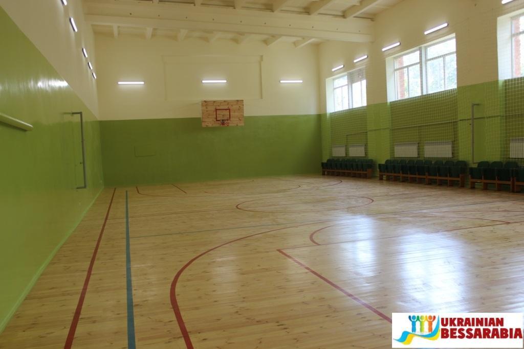 Новый спортзал