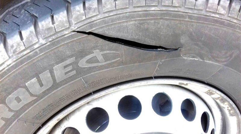порезанное колесо
