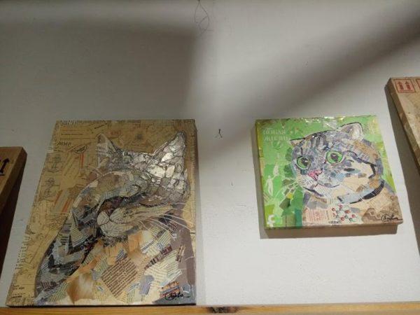 Эко-ресайклинг: в Одессе открылась удивительная выставка картин из обрывков бумаги