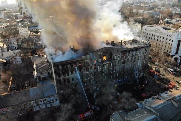пожар на Троицкой