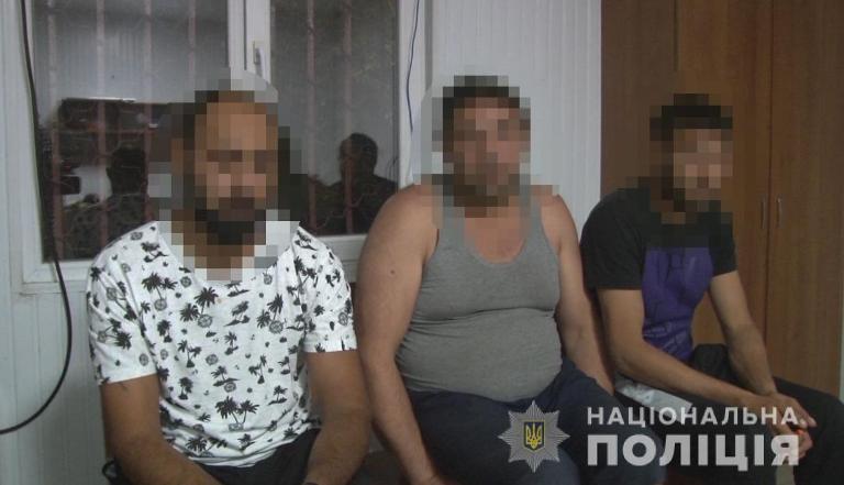 грабители, Болградский район