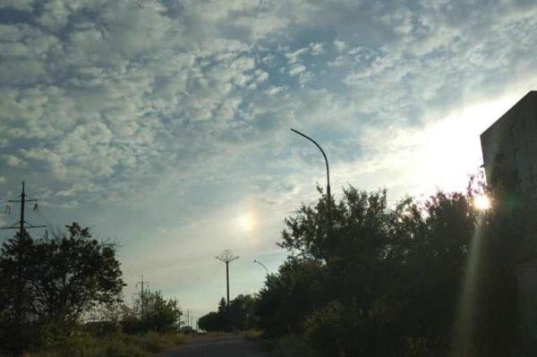 паргелий, два солнца, Одесская область