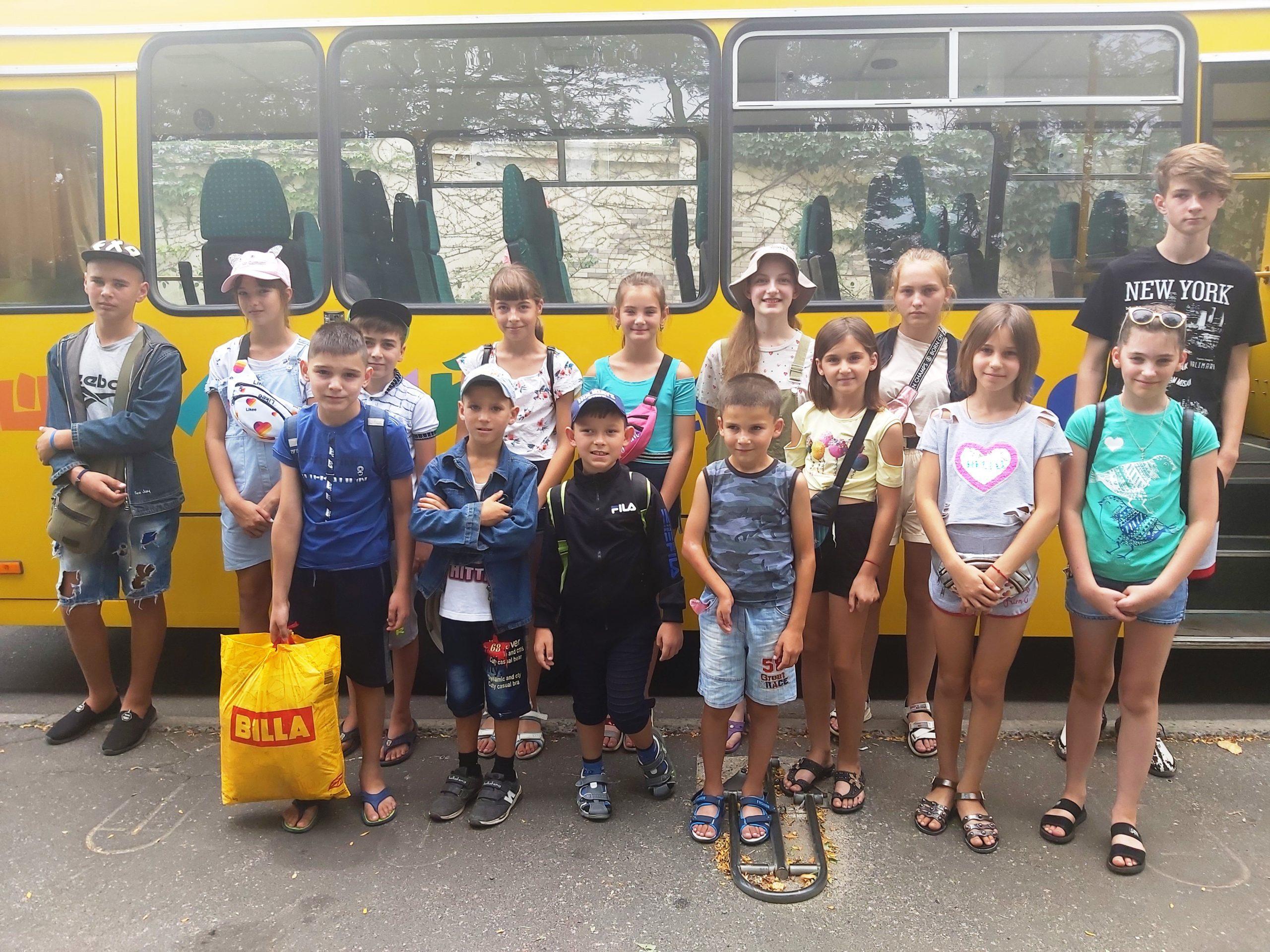 Школьники Арцизского района