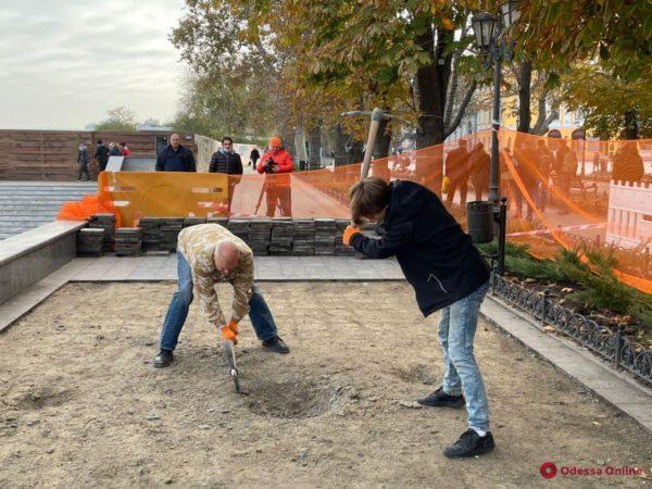 раскопки в Одессе