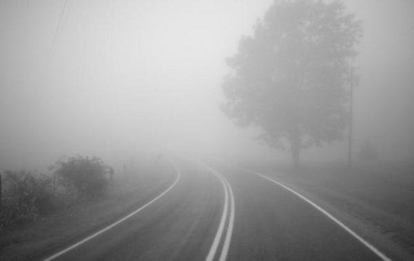 На трасе Одесса -Рени из-за сильного тумана произошло сразу несколько аварий