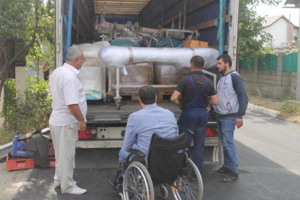 В Рени прибыла гуманитарная помощь из Германии