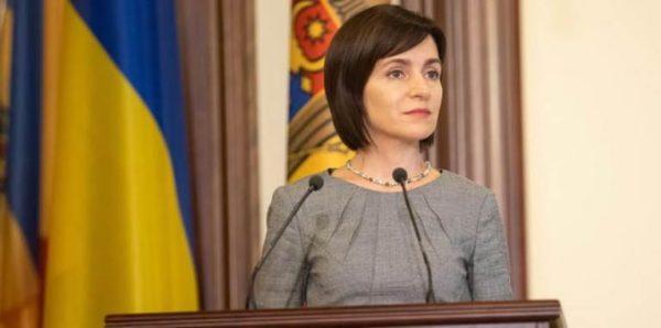 Майя Санду 12 января посетит Украину