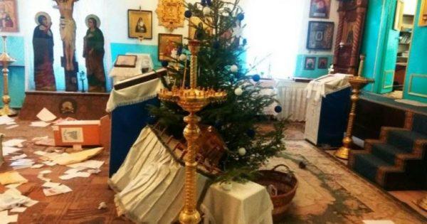 В Раздельнянском районе  в канун Рождества обокрали храм