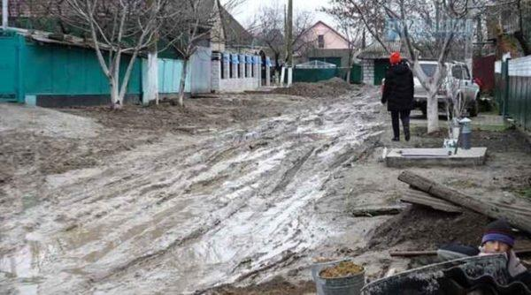 Улицы магалы в Рени характеризуют словами «ни проехать, ни пройти»