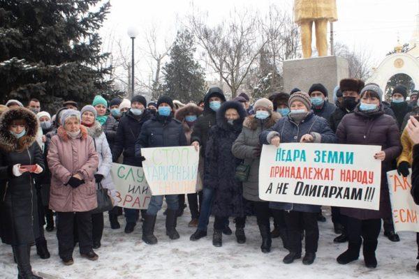 В Арцизе состоялся «тарифный Майдан» – жители протестуют против новых цен на электроэнергию