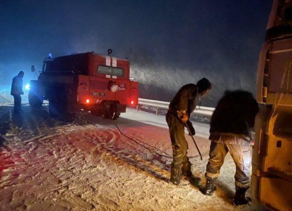 Трасса Одесса-Рени закрыта, более 100 населенных пунктов обесточены
