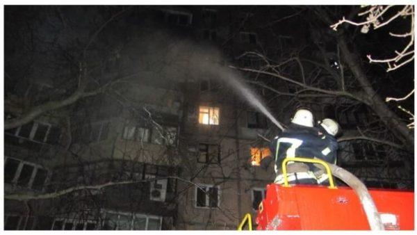 В новогоднюю ночь в Украине в пожарах погибло девять человек – ГСЧС